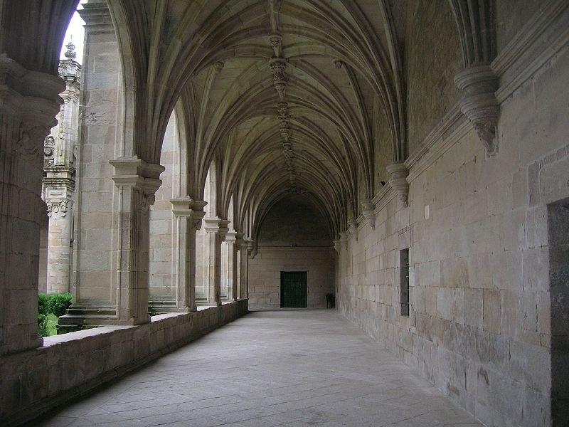 GaleriaDo claustro vello Mosteiro de Celanova
