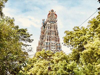 Galigopuram of Meenakshi Amman Temple 5.jpg