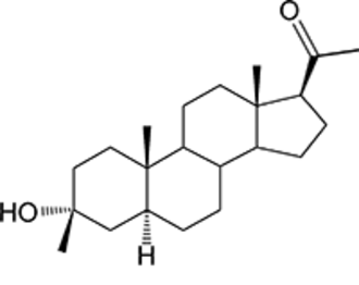 Neurosteroid - Ganaxolone, a neuroactive steroid currently in clinical development.