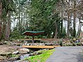 Garden pavillion at Rood Bridge Park - Hillsboro, Oregon.JPG