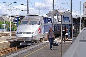Gare de Vannes - TGV at Vannes