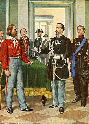 Alfonso Ferrero La Marmora - Garibaldi and General La Marmora