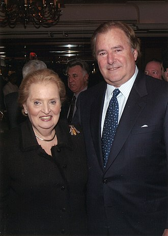 Gary Winnick - Gary Winnick and Madeleine Albright