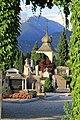 Gate to Bled Cemetery Slovenia (36050674492).jpg