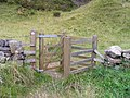Gate to open access land at Moor House and Cross Fell - geograph.org.uk - 1527963.jpg