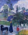 Gauguin 1889 Entre les lys.jpg
