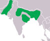 Gavialis gangeticus Distribution.png