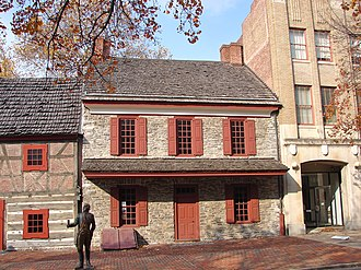 Golden Plough Tavern - Image: Gen Gates House York PA