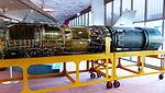 General Electric J79-11A Display at Aviation Museum 20130928.jpg