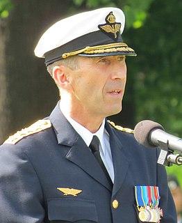 Micael Bydén Swedish general and supreme commander
