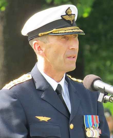Gen. Micael Bydén, the Supreme Commander of the Swedish Armed Forces.