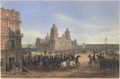 General Scott's Entrance Into Mexico (1851), by Carl Nebel and Adolphe Jean-Baptiste Bayot.png