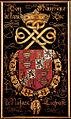Gent, Sint-Baafskathedraal blazoen Manrique de Lara Duc de Najara B STB 433 199.jpg