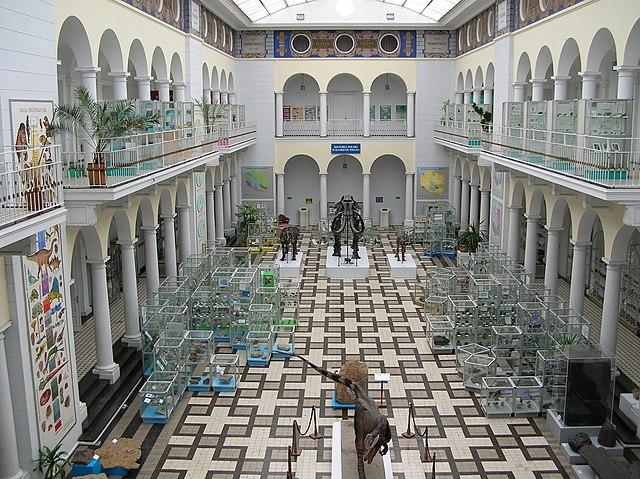 Geologické múzeum vo Varšave (Poľsko)