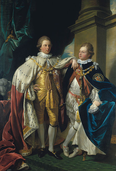 File:George IV, when Prince of Wales, with Frederick, Duke of York.jpg
