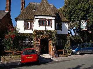 George and Dragon, Great Budworth grade II listed pub in the United kingdom