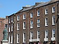 Georgian Facade with O'Connell Statue - Limerick - Ireland - 02 (29681742898).jpg