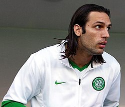 c57797a10 Georgios Samaras.jpg. Samaras with Celtic in 2010