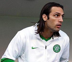 Georgios Samaras - Samaras with Celtic in 2010
