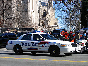 Metropolitan Police Dept. of D.C. providing security for Gerald Ford's funeral