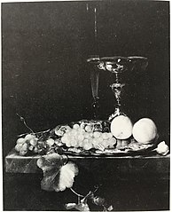 Still Life with a Silver Dish, Tazza and Fruit