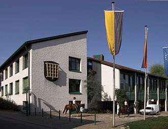 Wald-Michelbach - Town Hall in the heart of the community