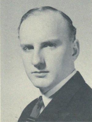 Gerry Odrowski - Odrowski at St. Michaels College, c. 1957