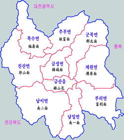 Geumsan-map.png