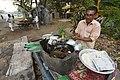 Ghanashyam Misra - Litti Vendor - Padmapukur Water Treatment Plant Road - Howrah 2018-03-24 0196.JPG