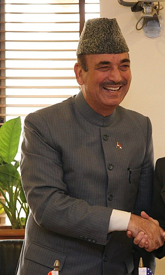 Ministry of Civil Aviation (India) - Image: Ghulam Nabi Azad