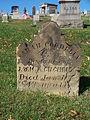 Gilchriest (Sarah Cordelia), Brush Creek Cemetery, 2015-10-26, 01.jpg