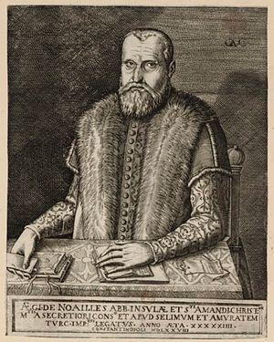 Gilles de Noailles - Gilles de Noailles (1578 engraving)