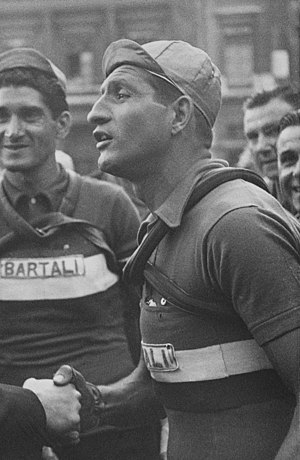 1948 Tour de France - Image: Gino Bartali, Tour de France 1950