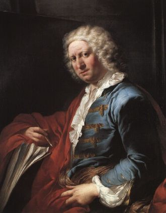 Giovanni Paolo Panini - Portrait of Panini by Louis Gabriel Blanchet