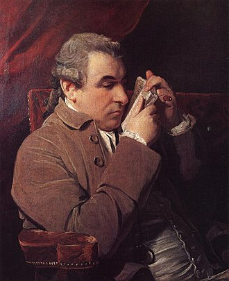 Giuseppe Marc'Antonio Baretti - Giuseppe Baretti. Portrait by Joshua Reynolds
