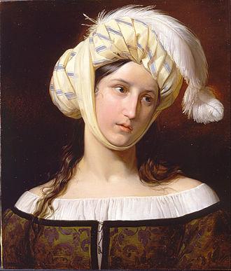 Rebecca -  Rebecca, by Giuseppe Molteni (1800–1867)
