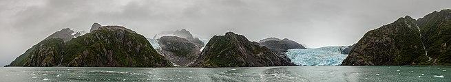 Glaciar de Aialik, Bahía de Aialik, Seward, Alaska, Estados Unidos, 2017-08-21, DD 58-64 PAN.jpg
