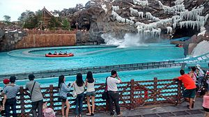 Chimelong Ocean Kingdom - Image: Glacier Adventure view 1