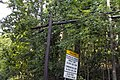 Glen Road, Potomac, pole damaged by storm. (7484636738).jpg