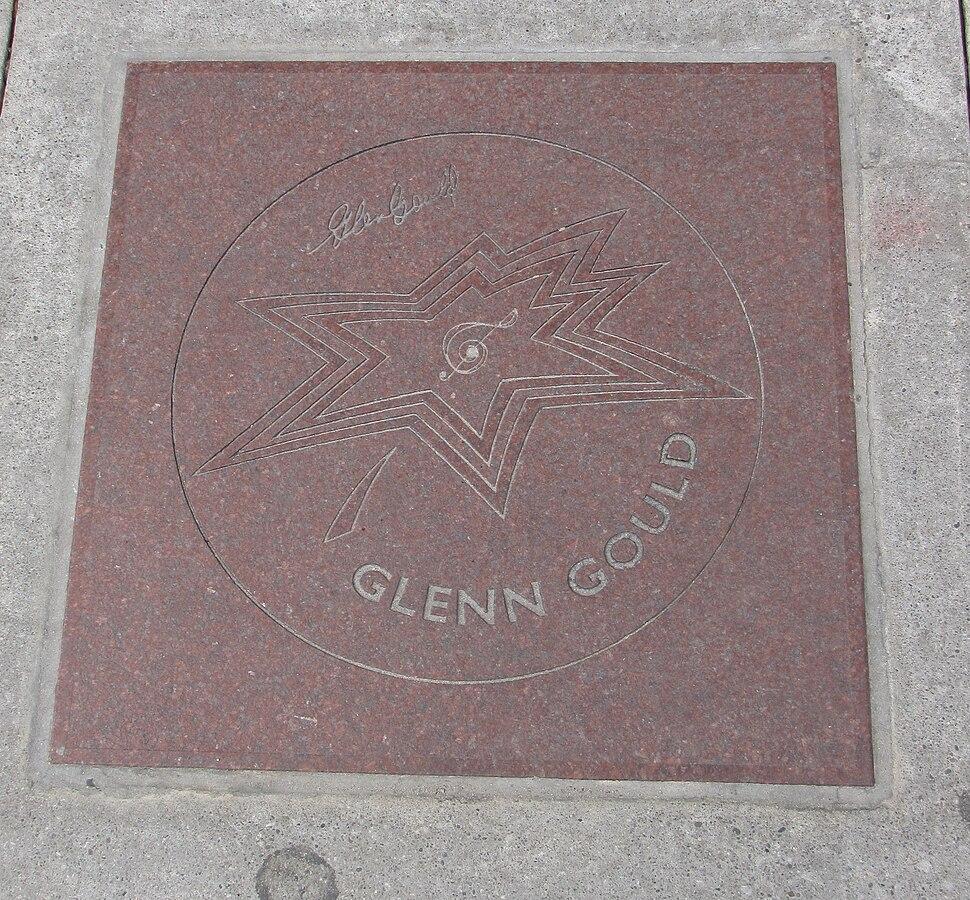 Glenn Gould Star on Canada%27s Walk of Fame
