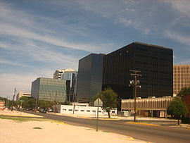 Glimpse of Midland, TX, W Ohio Ave looking east.jpg