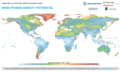 Global Map of Wind Power Density Potential.png