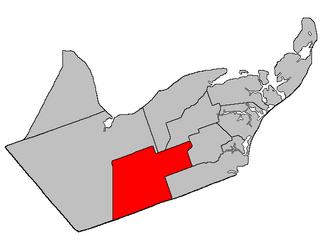Allardville Parish, New Brunswick Parish in New Brunswick, Canada