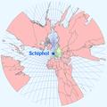 Gnomonische projectie Schiphol.PNG