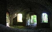 Gościszów Ruiny zamku ksiazecego pomieszczenia w przyziemiu 06.JPG