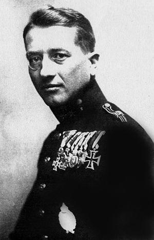 Godwin von Brumowski - Godwin Brumowski in the 1930's.