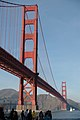 Golden Gate Bridge from the San Francisco side.JPG