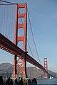 Golden Gate Bridge from the San Francisco side.JPG