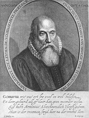 Franciscus Gomarus - Image: Gomarus
