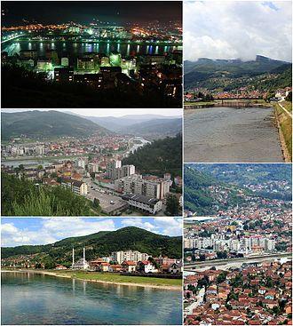 Goražde - Image: Goražde (collage)